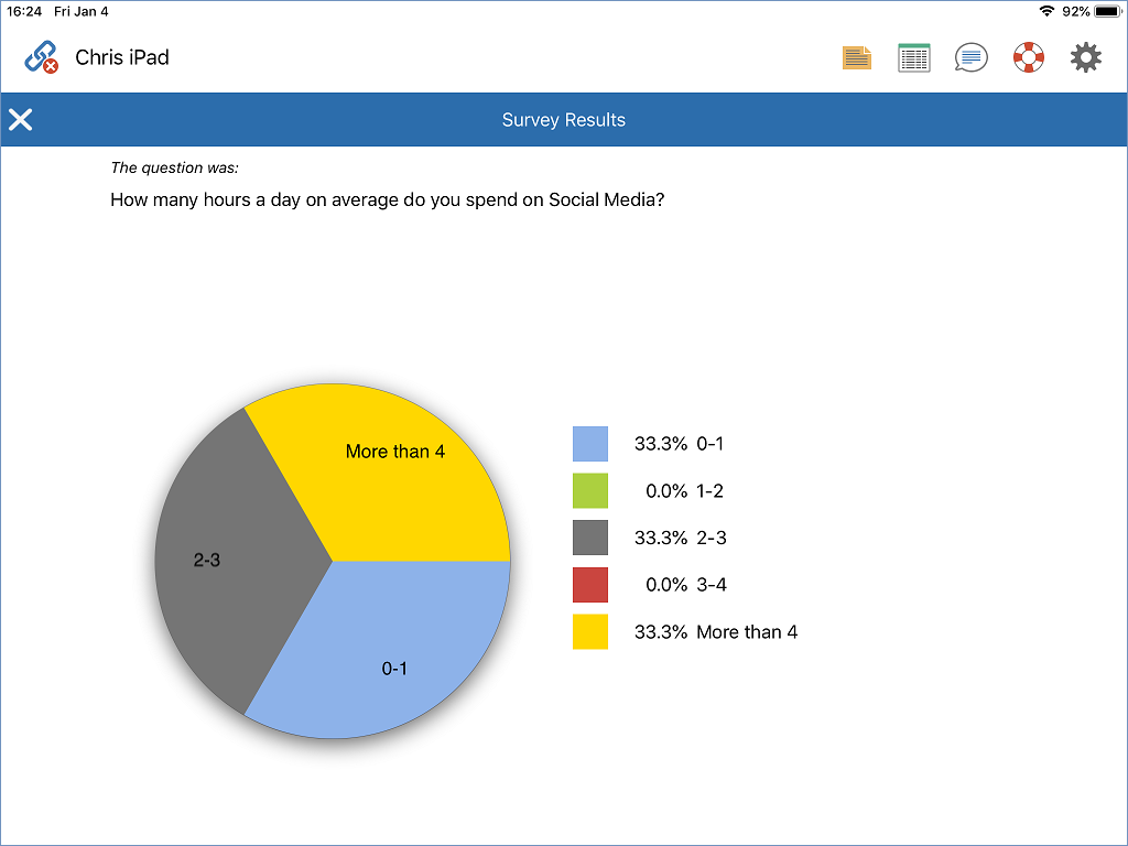 Show Survey Results