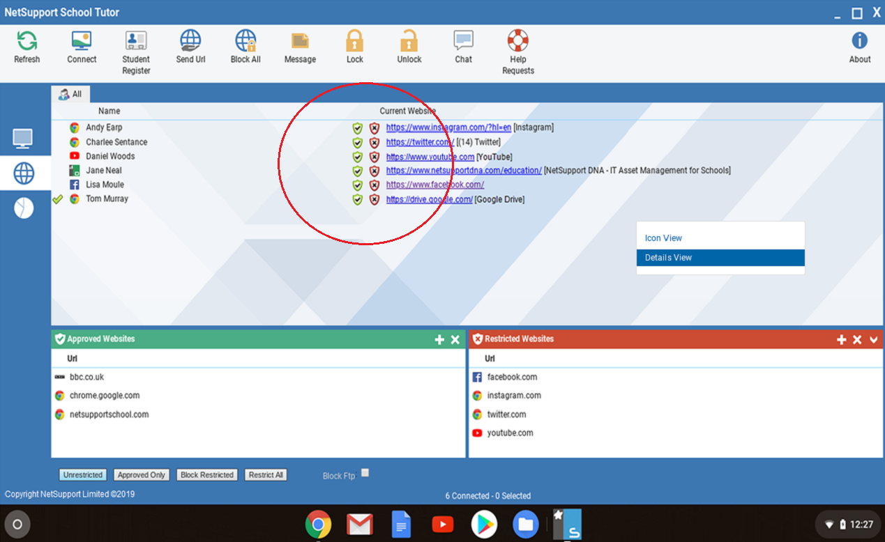 New features | NetSupport School
