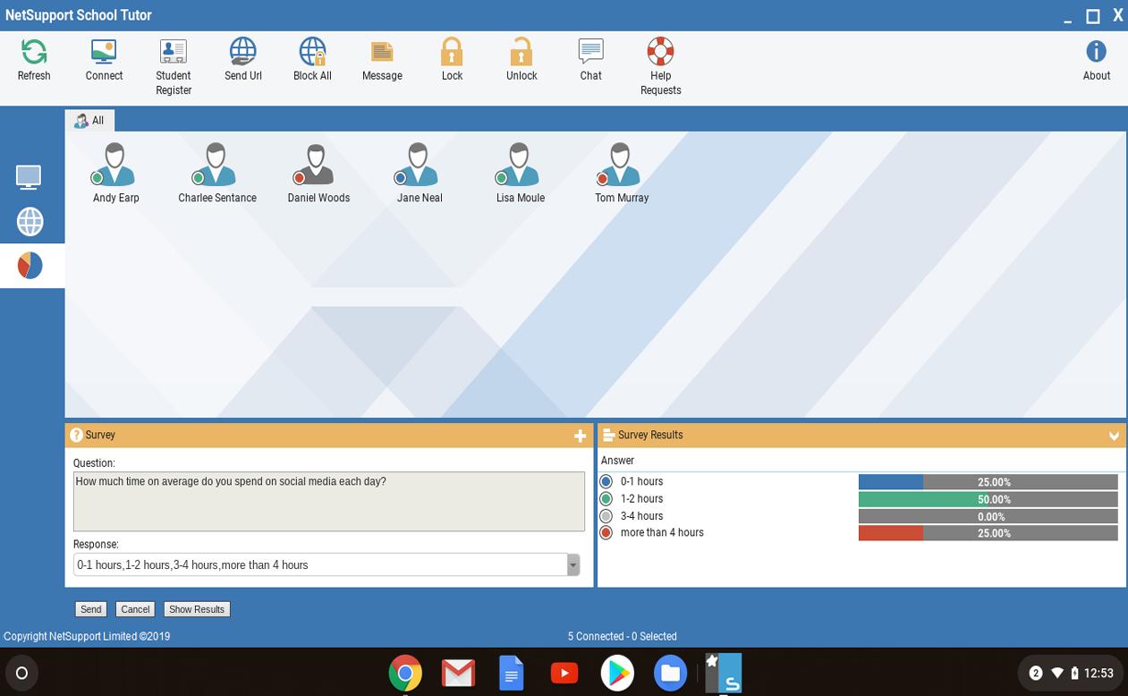 New features   NetSupport School